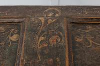 18th Century Painted Trunk on Stand (10 of 13)