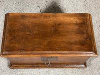 Small Spanish Walnut Chest From The 17th Century, (2 of 8)