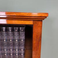 Tall Slim Victorian Mahogany Antique Open Bookcase (3 of 6)