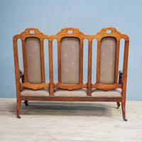 Mahogany Carved Couch (5 of 9)