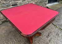 Regency Rosewood Card Table (11 of 24)
