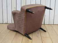 Antique Napoleon III Armchair for re-upholstery (6 of 8)
