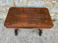 Superb English Victorian Rosewood Centre Table (5 of 5)