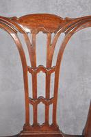 Pair Of 18th Century Mahogany Chippendale Side Chairs (11 of 11)