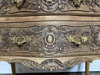 Stylish French Bleached Oak Commode Chest (14 of 20)