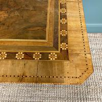 Stunning Victorian Walnut Antique Sorrento Table (7 of 8)