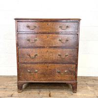 Georgian Oak Small Chest of Drawers (2 of 10)