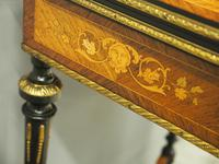 Louis XV Style French Marquetry Games / Side Table (9 of 15)