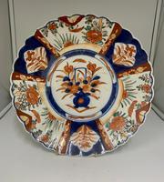 Antique Large Oriental Imari Porcelain Dish c.1875 (2 of 5)