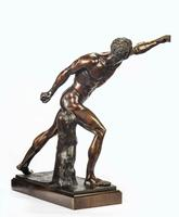 Very Well Cast 19th Century Bronze of a Gladiator (5 of 7)