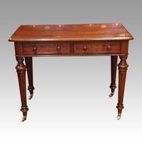 Victorian Mahogany Side Table (5 of 5)