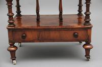 19th Century Burr Walnut Canterbury (2 of 9)