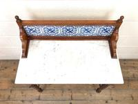 Antique Washstand with Tiled Back (2 of 10)