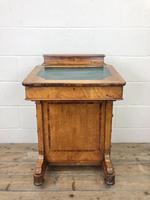 Antique Walnut Davenport Desk (8 of 11)