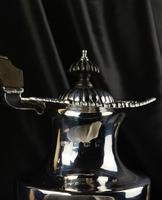 Edwardian Silver Coffee Pot Made by Elkington & Co (3 of 8)