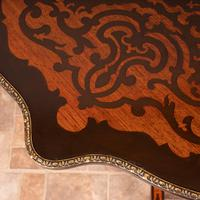 19th Century Marquetry Tripod Table (7 of 17)