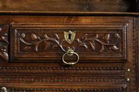 Mid 18th Century French Chestnut Dresser & Rack (6 of 6)