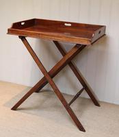 Late 19th Century Mahogany Butlers Tray (3 of 9)