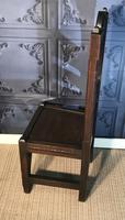 Victorian Gothic Revival Hall Chair (11 of 13)