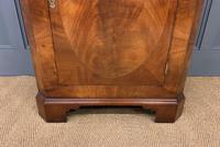 Good Burr Walnut Corner Cabinet (3 of 7)