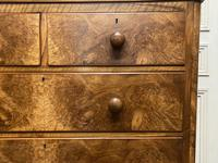 Fine Victorian Burr Walnut Chest of Drawers (5 of 15)