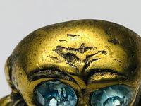 Small Brass Monkey Vesta Match Holder With Glass Eyes (16 of 17)