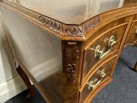 Pretty Quality Burr Walnut Dressing Table (8 of 17)