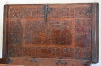 Italian Renaissance Cedar Box on Later Stand (13 of 13)