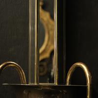 English Set of 4 Art Deco Brass Wall Lights (5 of 10)