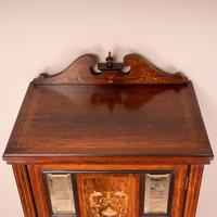 Edwardian Inlaid Music Cabinet (8 of 12)