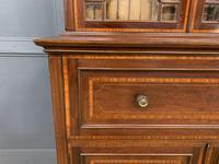 Edwardian Inlaid Mahogany Secretaire Bookcase (9 of 21)