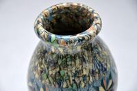 1960's Pair of Vallauris Ceramic 'Mosaic' Vases by Jean Gerbino (7 of 10)
