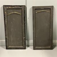 Pair of Amboyna & Ebonised Pier Mirrors (4 of 9)