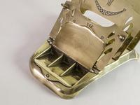 Antique 'Ges Gesch' Brass Letter Rack (2 of 6)