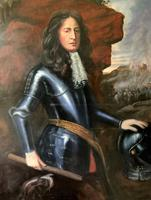 Huge Oil Portrait Painting 'King William III' After Sir Peter Lely (3 of 13)