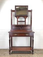 Antique Mahogany Hall Stand (2 of 10)
