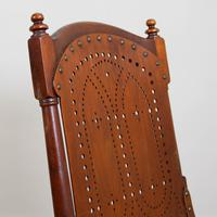 Pair Attractive Victorian Pierced Bentwood Side Chairs (10 of 14)
