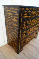 Victorian Chest of Drawers with Fish Decoupage (4 of 11)