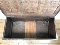18th Century Oak Coffer with Inlay (4 of 13)