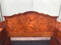 Pair of Antique Burr Walnut Bedside Tables (4 of 12)