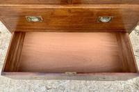 Antique Military Campaign Teak Chest of Drawers (19 of 21)