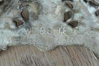 Pair of Victorian William Tonks Brass Candlesticks Register Diamond Mark '1882 WT&S' (9 of 9)