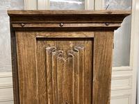 French Gothic Oak Rustic Cupboard or Wardrobe (9 of 22)