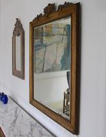 Italian Mirror Giltwood Carved Painted Neoclassical Large (3 of 8)
