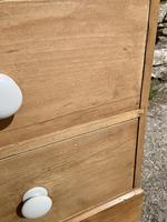 Antique Victorian Stripped Pine Chest of Drawers (9 of 15)