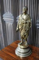Grand Tour Gilt Bronze Roman Scholar (3 of 6)