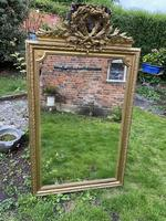 Large antique French gilt mirror (5 of 8)