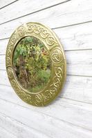 Arts & Crafts Movement Scottish / Glasgow School Circular Wall Mirror c.1900 (15 of 24)