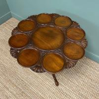 Quality Victorian Mahogany Antique Supper Table (9 of 9)