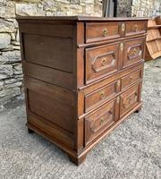 17th Century Oak Two Part Chest of Drawers (4 of 20)